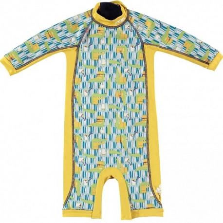 Close, Ocieplany kombinezon do pływania dla dziecka, Krokodyl (Charles and Erin), X-Large (24-36 miesięcy)