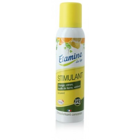 Etamine du Lys, Skoncentrowany Oczyszczacz i Odświeżacz Powietrza w Sprayu Zapach Energetyzujący, 125 ml