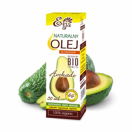 Etja, Olej Avocado BIO, 50ml