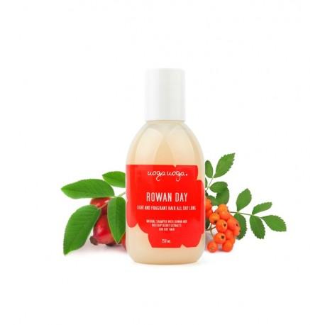 Uoga Uoga, Naturalny szampon Rowan Day do włosów suchych, 250ml