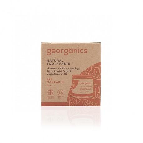 Georganics, Mineralna pasta do zębów w słoiku Orange, 60ml
