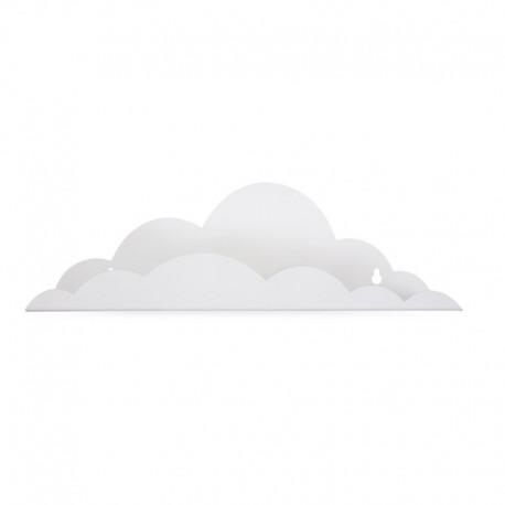 Childhome, Metalowa półka na ścianę Cloud, biała