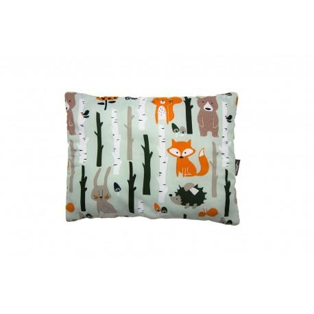 PULP, Poduszka Minky Las Pomarańczowy 35cm x 45cm