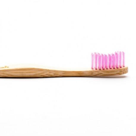 Humble Brush, Bambusowa szczoteczka do zębów, różowa