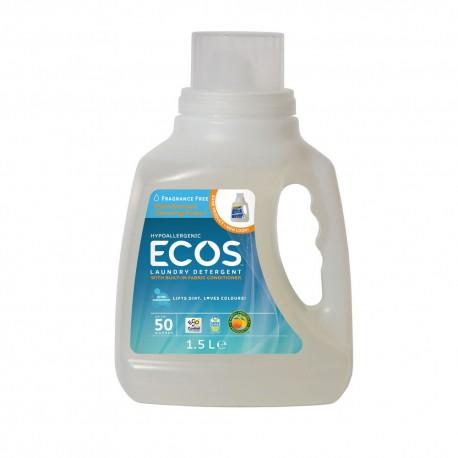 Earth Friendly Products, ECOS Bezzapachowy Płyn do Prania, 1,5L