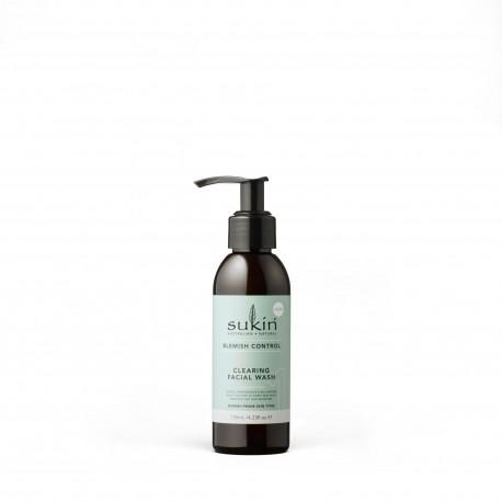 Sukin, BLEMISH CONTROL Żel do mycia twarzy, 125 ml