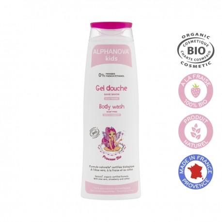 Alphanova Princesse, Żel do Mycia Ciała dla Dziewczynek, 250 ml