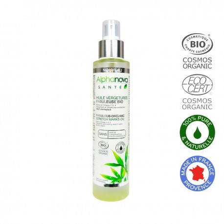 Alphanova Sante, Organiczna kompozycja olejków na rozstępy, 100ml