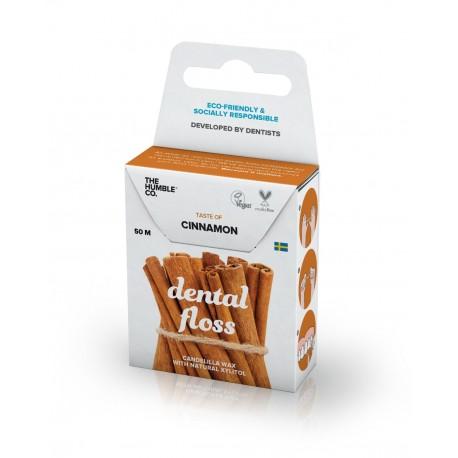 Humble Brush, Nić dentystyczna o smaku cynamonu, CINNAMON, 50 m
