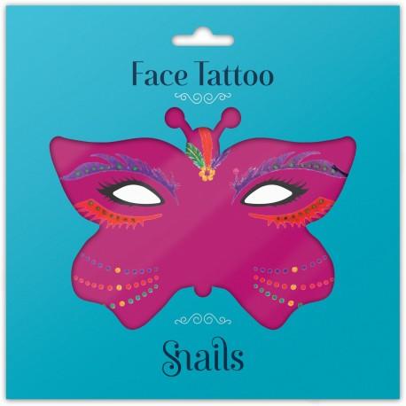 Snails, Naklejka na twarz dla dzieci, Face Tattoo - Brazil