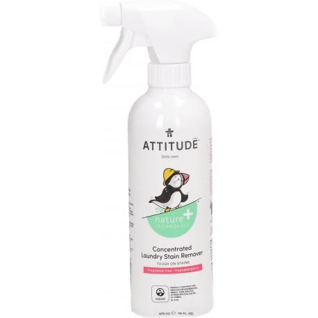 Attitude, Odplamiacz do Ubranek Dziecięcych, Bezzapachowy, Little Ones, 475 ml