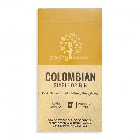 Kawa do Nespresso ®, kompostowalne kapsułki, Moving Beans Colombia Origin, 10 szt.