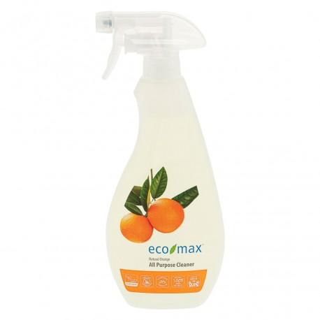 Eco-Max, Spray do wszelkich powierzchni, kwiat pomarańczy, 710ml