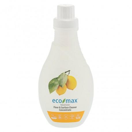 Eco-Max, Koncentrat do czyszczenia podłóg i wszelkich powierzchni, cytryna, 1,05L