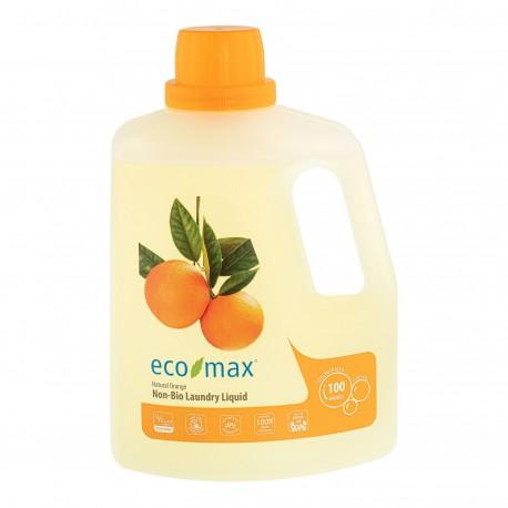 Eco-Max, Płyn do prania, pomarańcza, 100 prań, 3L