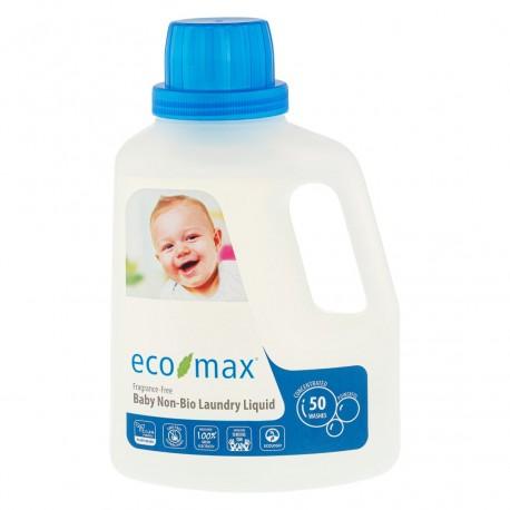 Eco-Max, Płyn do prania ubranek dziecięcych, bezzapachowy, 50prań, 1,5L