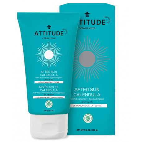 Attitude After Sun żel nagietkowy Mint & Cucumber 150 g