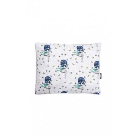 Pulp, poduszka Minky, Dziewczynka, 35 x 35 cm