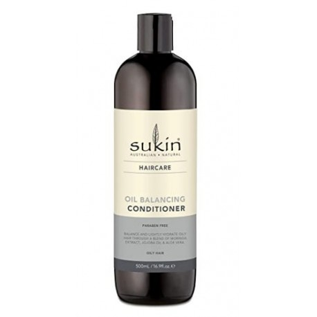 Sukin, Odżywka do włosów przetłuszczających się OIL BALANCING,  500ml