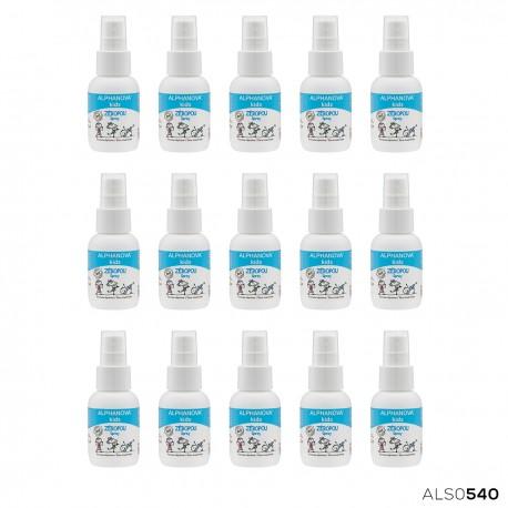 Alphanova Kids, Naturalny spray odstraszający wszy, 50ml, KARTON, 15 szt.