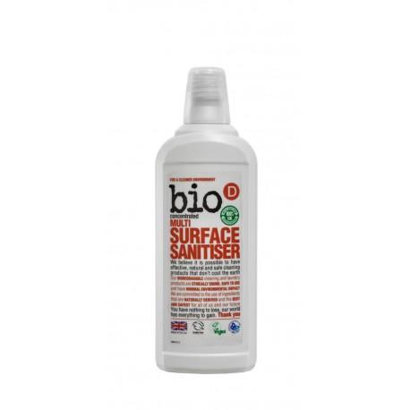 Bio-D, Skoncentrowany środek do czyszczenia różnych powierzchni, 750 ml
