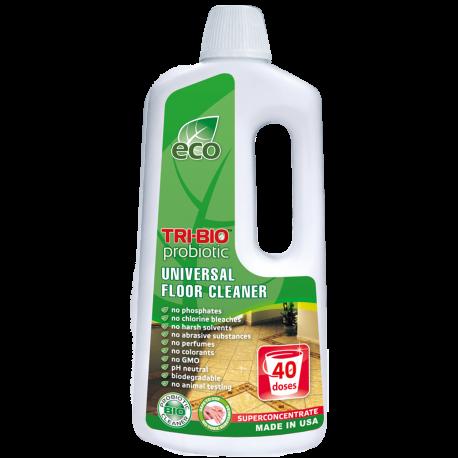 TRI-BIO, Probiotyczny Skoncentrowany Środek do Mycia Podłóg, 890 ml