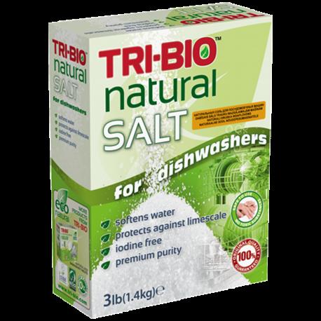 TRI-BIO, Naturalna Sól do Zmywarki, 1,4 kg