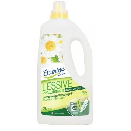 Etamine du Lys, Hypoalergiczny Płyn do Prania Ubraniek Dziecięcych z Organiczną Wodą Rumiankową, 2 l