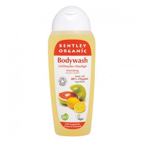 Bentley Organic, Naturalny Detoksykujący Żel pod Prysznic z Grejpfrutem, Cytryną i Wodorostami, 250 ml