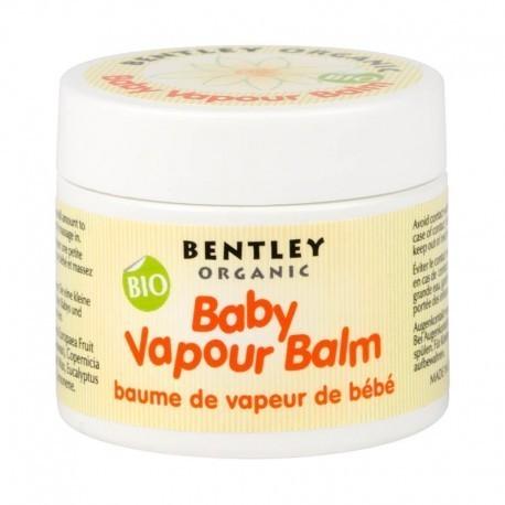 Bentley Organic, Dziecięcy Organiczny Balsam Ułatwiający Oddychanie - Na Przeziębienia, 50g