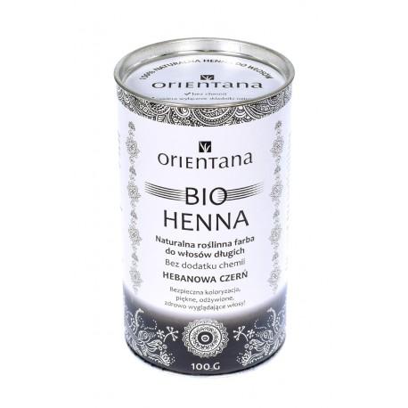 Orientana, BIO Henna Hebanowa Czerń, 100g
