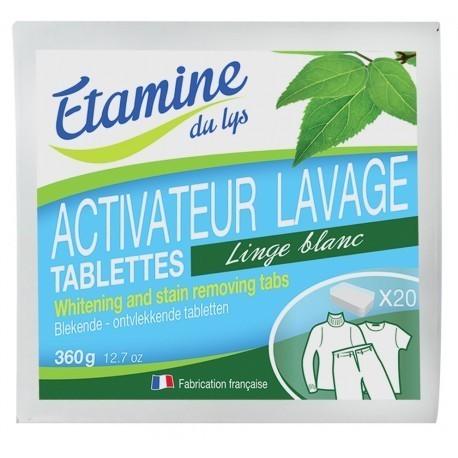 Etamine du Lys, Tabletki do Wybielania i Usuwania Plam z Tkanin, 20 szt.