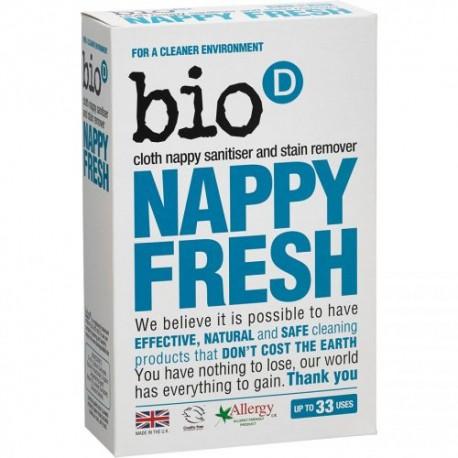 Bio-D, Nappy Fresh Dodatek Antybakteryjny do Prania Pieluch, 500g